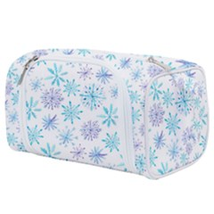 Snowflakes Toiletries Pouch by augustinet