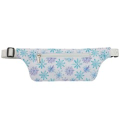 Snowflakes Active Waist Bag by augustinet