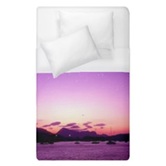 Sunset In Poros  Duvet Cover (single Size) by augustinet