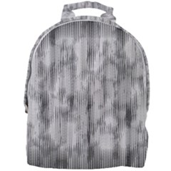 Abstrait Texture Gris/noir Mini Full Print Backpack