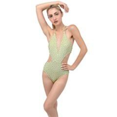 Df Codenoors Ronet Plunging Cut Out Swimsuit