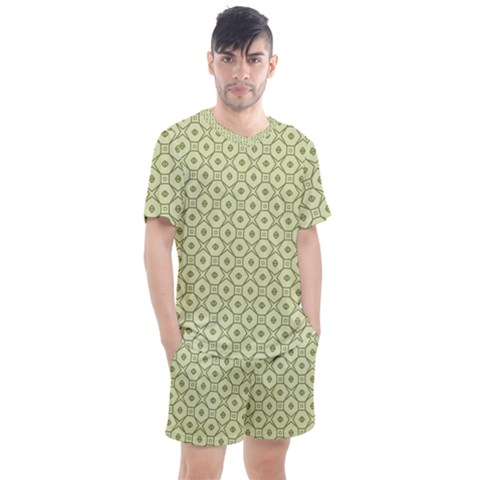 Df Codenoors Ronet Men s Mesh Tee And Shorts Set by deformigo