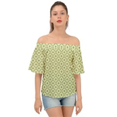 Df Codenoors Ronet Off Shoulder Short Sleeve Top