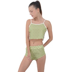 Df Codenoors Ronet Summer Cropped Co-ord Set