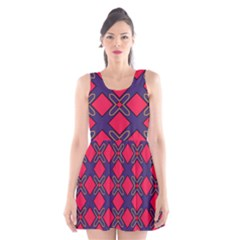 Df Wyonna Wanlay Scoop Neck Skater Dress