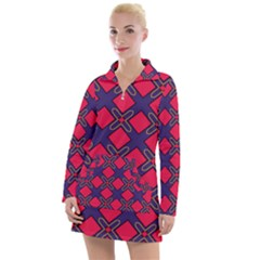 Df Wyonna Wanlay Women s Long Sleeve Casual Dress