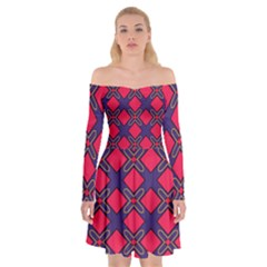 Df Wyonna Wanlay Off Shoulder Skater Dress