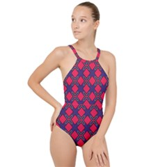 Df Wyonna Wanlay High Neck One Piece Swimsuit