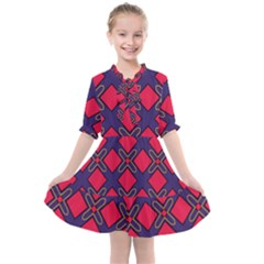 Df Wyonna Wanlay Kids  All Frills Chiffon Dress by deformigo
