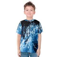 Photo Vagues  Kids  Cotton Tee
