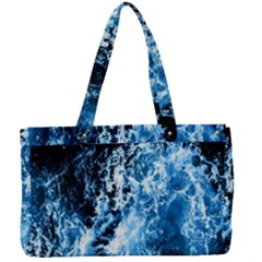 Photo Vagues  Canvas Work Bag