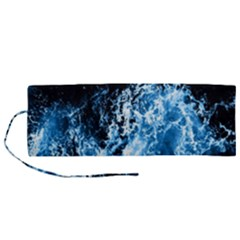 Photo Vagues  Roll Up Canvas Pencil Holder (m) by kcreatif