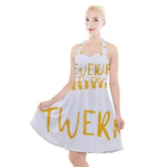 Twerking T-shirt Best Dancer Lovers & Twirken Twerken Gift | Booty Shake Dance Twerken Present | Twerkin Shirt Twerking Tee Halter Party Swing Dress  by reckmeck