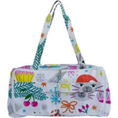 Funny Christmas Pattern Multi Function Bag