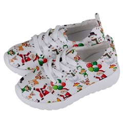 Seamless Pattern Christmas Kids  Lightweight Sports Shoes by Vaneshart