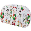 Seamless Pattern Christmas Makeup Case (Large) View2