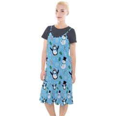 Colorful Funny Christmas Pattern Cartoon Camis Fishtail Dress by Vaneshart