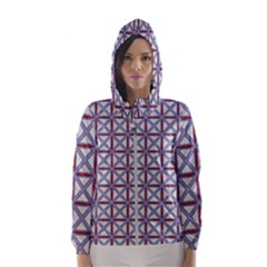 Df Donos Grid Women s Hooded Windbreaker by deformigo