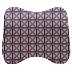 Df Donos Grid Velour Head Support Cushion by deformigo