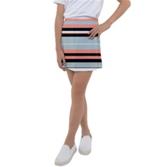 Bandes Orange/bleu/noir Kids  Tennis Skirt by kcreatif