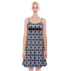 Df Alhambrine Cetta Spaghetti Strap Velvet Dress by deformigo