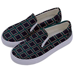 Df Bonnar Vinck Kids  Canvas Slip Ons by deformigo