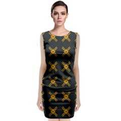 Df Ikonos Quanika Classic Sleeveless Midi Dress by deformigo