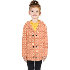 Df Union Valenti Kids  Double Breasted Button Coat