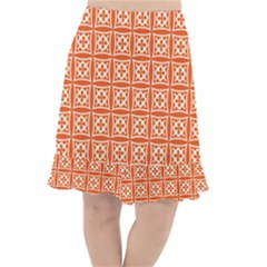 Df Union Valenti Fishtail Chiffon Skirt