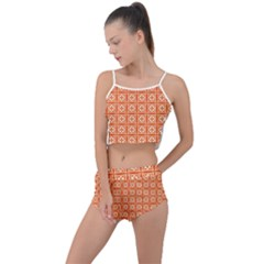 Df Agnosia Montamino Summer Cropped Co-ord Set by deformigo