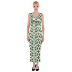 Df Agnosia Velis Fitted Maxi Dress by deformigo