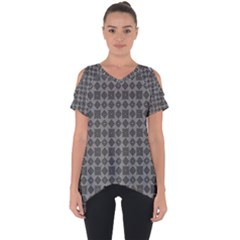 Df Adamo Linum Cut Out Side Drop Tee by deformigo