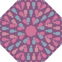 Pineapple Wallpaper Pattern 1462307008mhe Hook Handle Umbrellas (small)