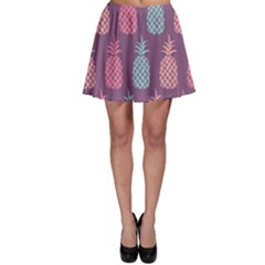 Pineapple Wallpaper Pattern 1462307008mhe Skater Skirt
