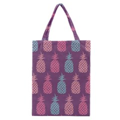 Pineapple Wallpaper Pattern 1462307008mhe Classic Tote Bag