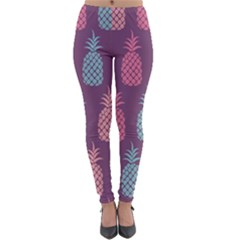 Pineapple Wallpaper Pattern 1462307008mhe Lightweight Velour Leggings