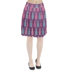 Pineapple Wallpaper Pattern 1462307008mhe Pleated Skirt