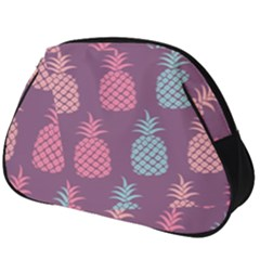 Pineapple Wallpaper Pattern 1462307008mhe Full Print Accessory Pouch (big)