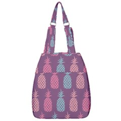 Pineapple Wallpaper Pattern 1462307008mhe Center Zip Backpack