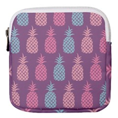 Pineapple Wallpaper Pattern 1462307008mhe Mini Square Pouch