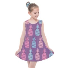 Pineapple Wallpaper Pattern 1462307008mhe Kids  Summer Dress