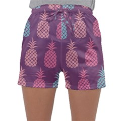 Pineapple Wallpaper Pattern 1462307008mhe Sleepwear Shorts