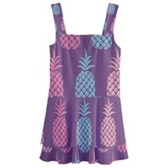 Pineapple Wallpaper Pattern 1462307008mhe Kids  Layered Skirt Swimsuit