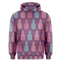 Pineapple Wallpaper Pattern 1462307008mhe Men s Overhead Hoodie