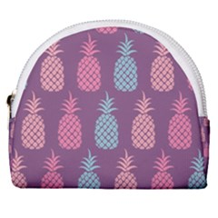 Pineapple Wallpaper Pattern 1462307008mhe Horseshoe Style Canvas Pouch