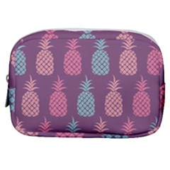 Pineapple Wallpaper Pattern 1462307008mhe Make Up Pouch (small)