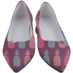 Pineapple Wallpaper Pattern 1462307008mhe Women s Block Heels