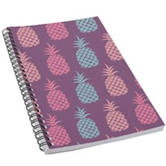 Pineapple Wallpaper Pattern 1462307008mhe 5 5  X 8 5  Notebook