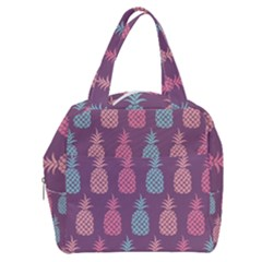 Pineapple Wallpaper Pattern 1462307008mhe Boxy Hand Bag