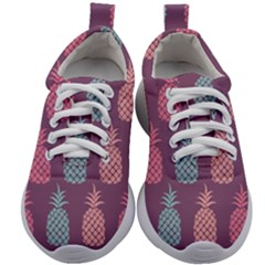 Pineapple Wallpaper Pattern 1462307008mhe Kids Athletic Shoes